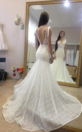 Wedding Dress Bustle | Bustled Wedding Dress - June Bridals