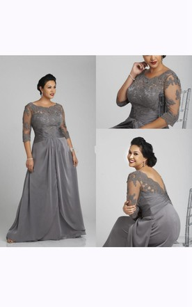 Plus Size Formal Dresses | Full Figured Formal Dresses - June Bridals