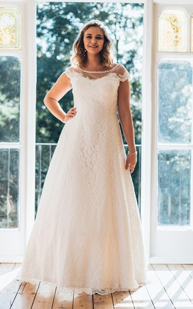 Full Figured Wedding Dresses | Plus Size Wedding Dresses - June Bridals