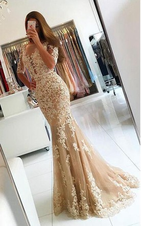 Mermaid Prom Dresses | Trumpet/Fishtail Formal Dresses - June Bridals