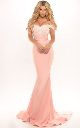 Pale Pink Prom Dresses | Blush Prom Dresses - June Bridals