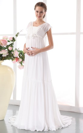 pregnant wedding dresses