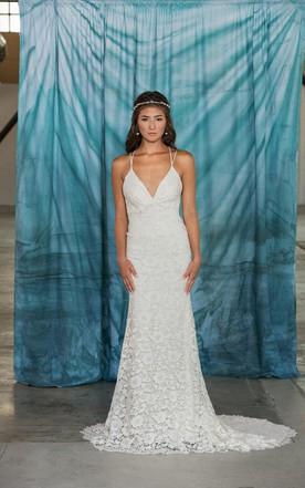Straight Wedding Dresses on Sale, Sheath Wedding Dresses - June Bridals