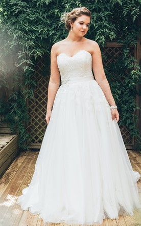 Plus Figure Super Wedding Dress, Super Large Size Bridals Dresses ...