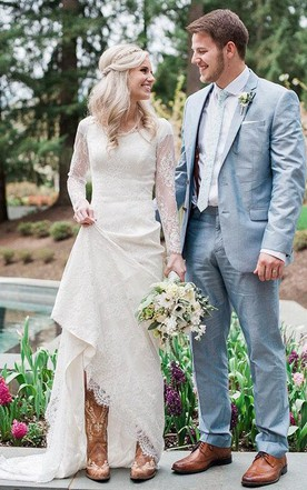 Country Style Wedding Gowns, Rustic & Western Bridals Dresses ...