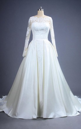 Old Style Wedding Dress, Vintage Bridals Dresses - June Bridals