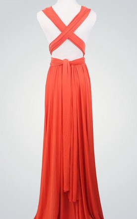 13d8bd11815 ... Coral Wrap Infinity Coral Bridemaids Convertible Wrap Dres Coral Prom  Multiway Evening Long Wrap Dress