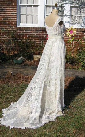 Wedding Gowns No Trains, Floor Bridal Dresses with Trainless - June ...