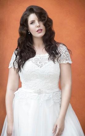Simple Plus Size Wedding Dresses, Plus Size Bridal Gowns - June Bridals