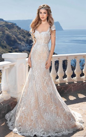 Sweetheart Neckline Wedding Dress, Strapless Wedding Gowns - June ...
