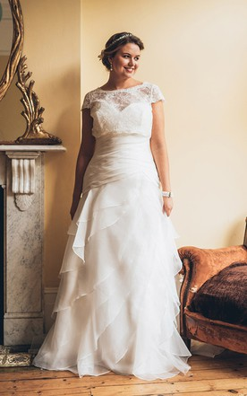 Plus Figure Modest Bridal Dresses, Large Size Conservative Wedding ...