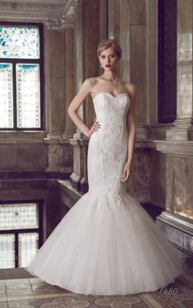 322846a632804 Fishtail Style Wedding Dress | Mermaid Wedding Gown - June Bridals