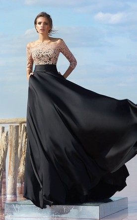 Evening Gown for High Ladies, Long Prom Tall Women Gowns - June Bridals