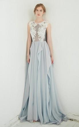 Grey & Silver Wedding Dresses - June Bridals
