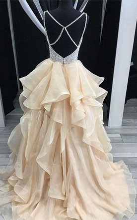 Victoria Style Prom Dress, Princess Style Formal Dresses - June Bridals