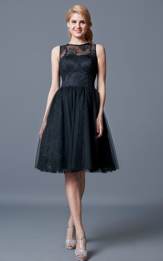 Black Bridesmaid Dresses, Black-Tie Event Dress - June Bridals