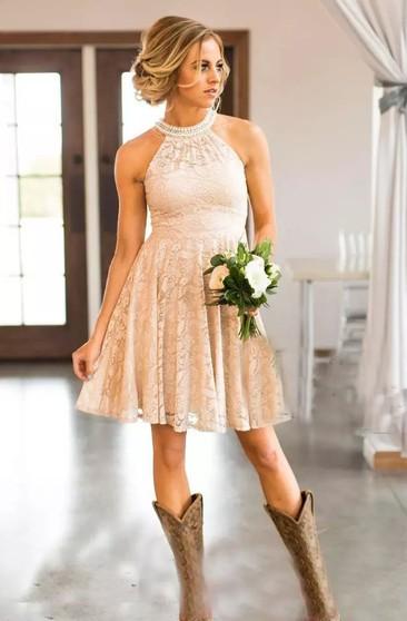 Country Rustic Bridesmaids Dresses