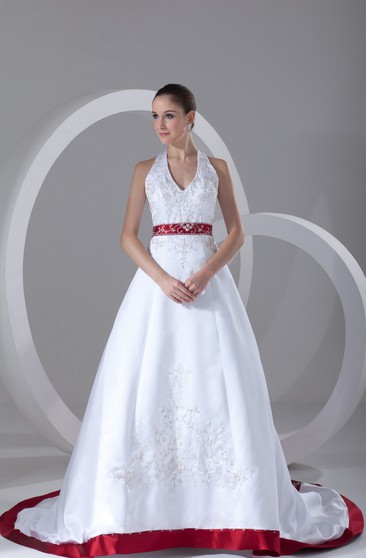 Red And White Wedding Dress.White And Red Wedding Dress Cheap Long More June Bridals