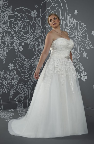 Casual Plus Figure Wedding Gowns, Casual Style Large Size ...