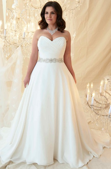Simple Plus Size Wedding Dresses, Plus Size Bridal Gowns ...