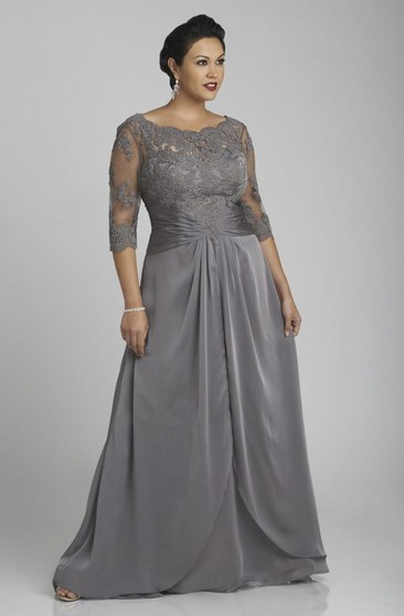 Plus Size Formal Dresses   Prom Gowns For Full Figures ...