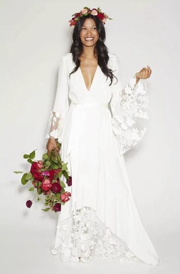 Romantic Bohemian Wedding Dresses.Romantic Boho Bridal Dresses Bohemian Style Wedding Gowns June