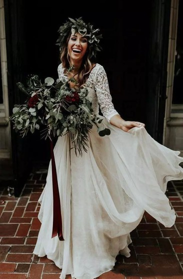 Courthouse Bridals Dresses Casual Informal Wedding Gowns June