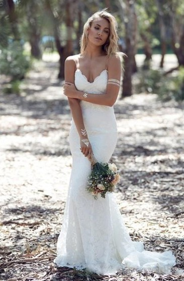 Fishtail Style Wedding Dress Mermaid Wedding Gown June