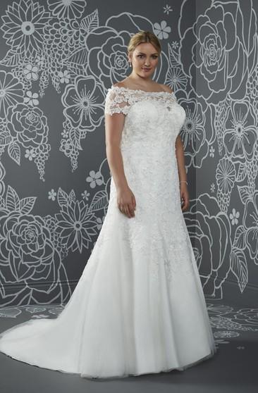 Discount Plus Size Wedding Dresses   Cheap Plus Size Wedding ...