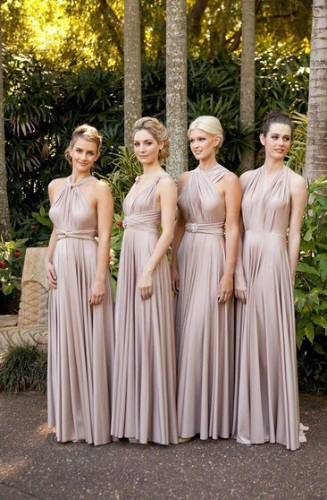 Convertible Bridesmaid Gowns | Muti-Way Dresses