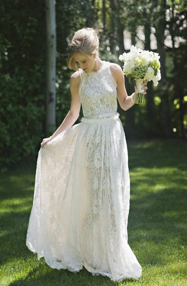 Cowgirl Bridal Dresses Country Rustic Style Wedding Gowns