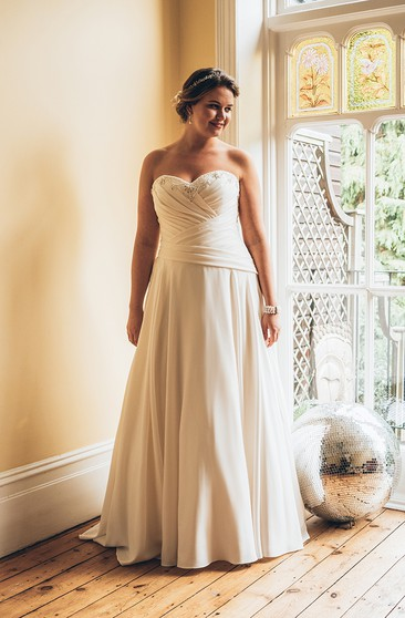 Casual Plus Figure Wedding Gowns, Informal Large Size ...