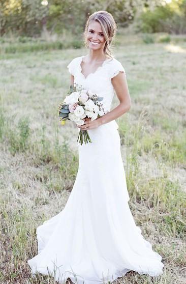 Mature Older Ladies Bridal Dresses Wedding Gowns For Brides