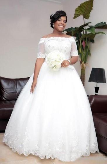 Plus Sized Ball Gown | Full Figured Princess Dresses - June ...