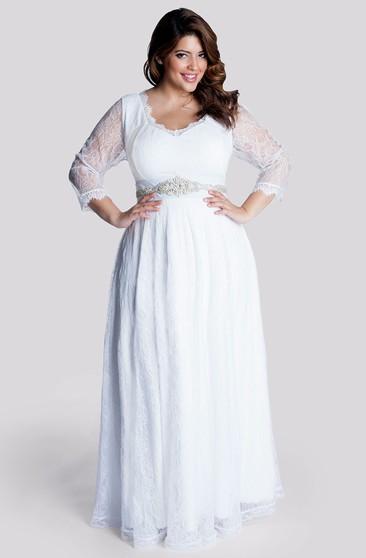 Plus Figured Vintage Bridal Dresses | Vintage Bigger Size ...