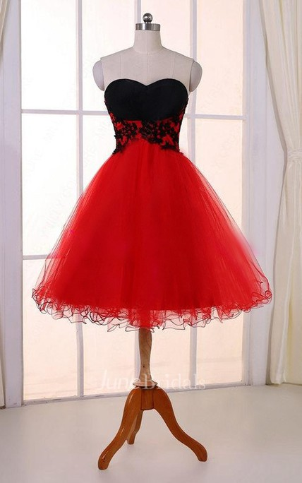 Knee Length Tulle Dresses