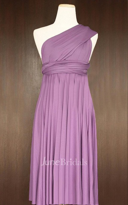 78d6e69b8a8 Short Straight Hem Yam Infinity Multiway Convertible Wrap Dress - June  Bridals