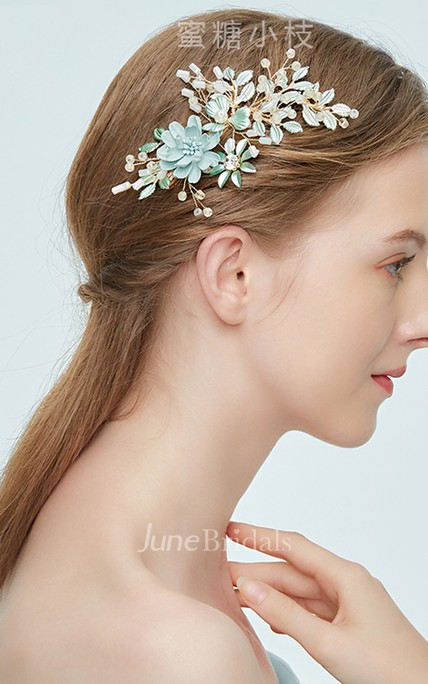 Western Style Hand-crystal Rhinestone Crystal Vine Hairpin Hairpin