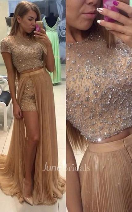 Beige Prom Dresses 2018