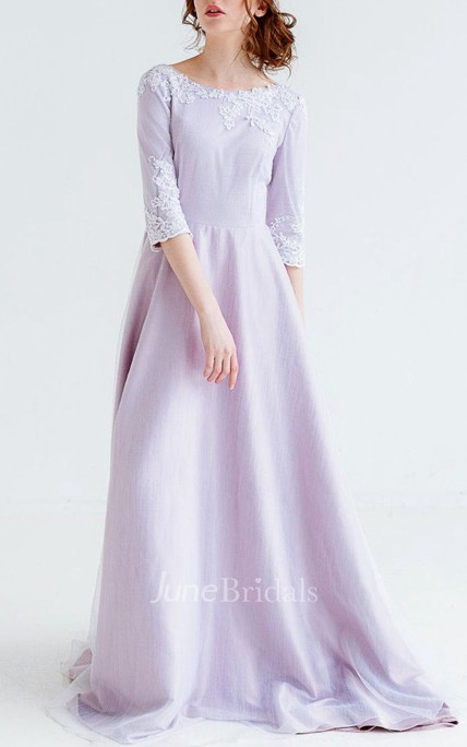 Wedding Purple Flower Bridal Gown Coloured Wedding Purple Color ...