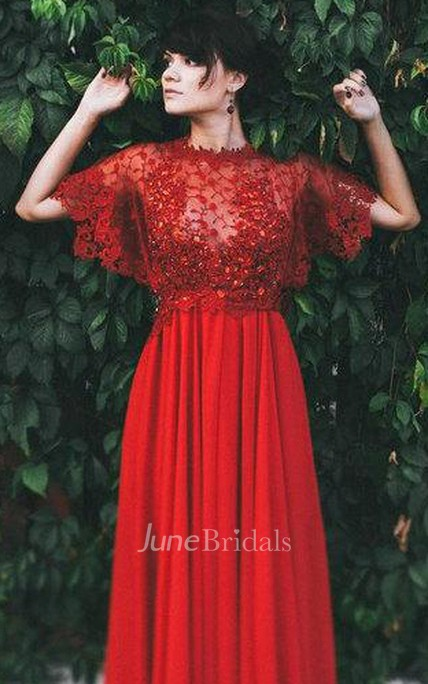 Wedding Alternative Red Bohemian Color Gown Dress