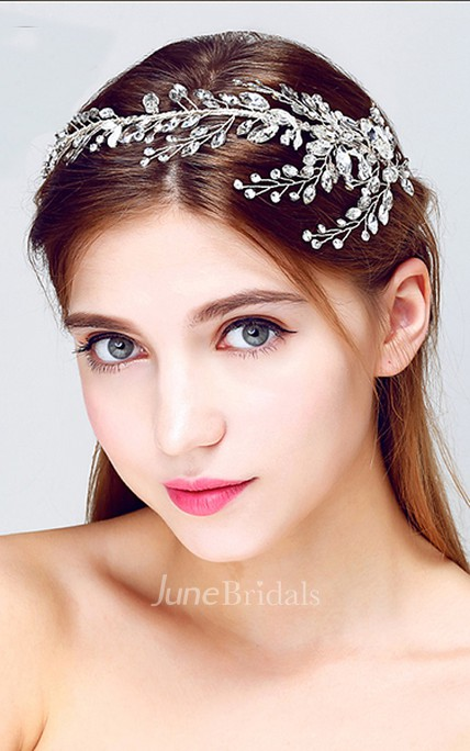 Crown Crystal Crown Wedding Jewelry Bridal Wedding Headdress Wreath