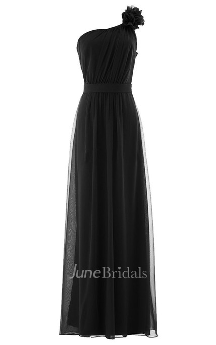 Strapless Basque Waist Dress With Zioper Back