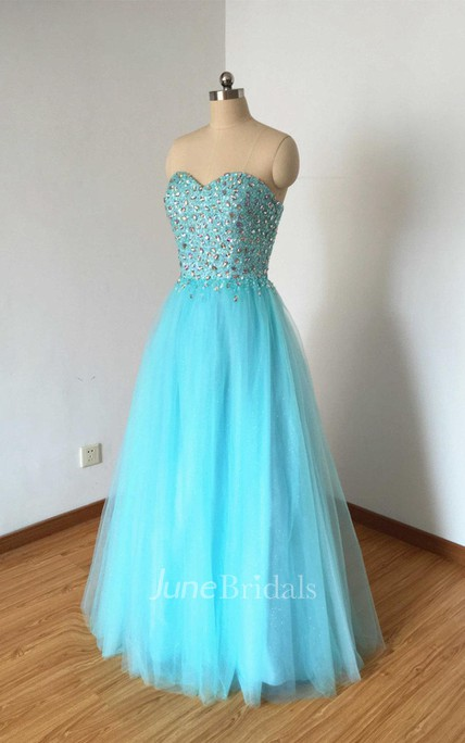 Ball Gown Sweetheart Tulle Dress