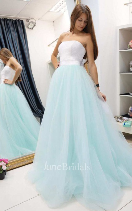 Ball Gown Short Mini Tulle Lace Wedding Dress - June Bridals