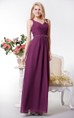 Graceful Chiffon Long Formal Dress with Beaded Waist
