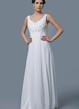 Hippy Empire Waist Elegant Sparkling Bodice Wedding Dress Casual Yet Beautiful