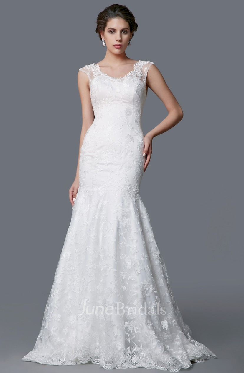 Ethereal Wedding Dress.Ethereal Wedding Dress With A Full Skirt And Fitted Detail And Moveable Straps