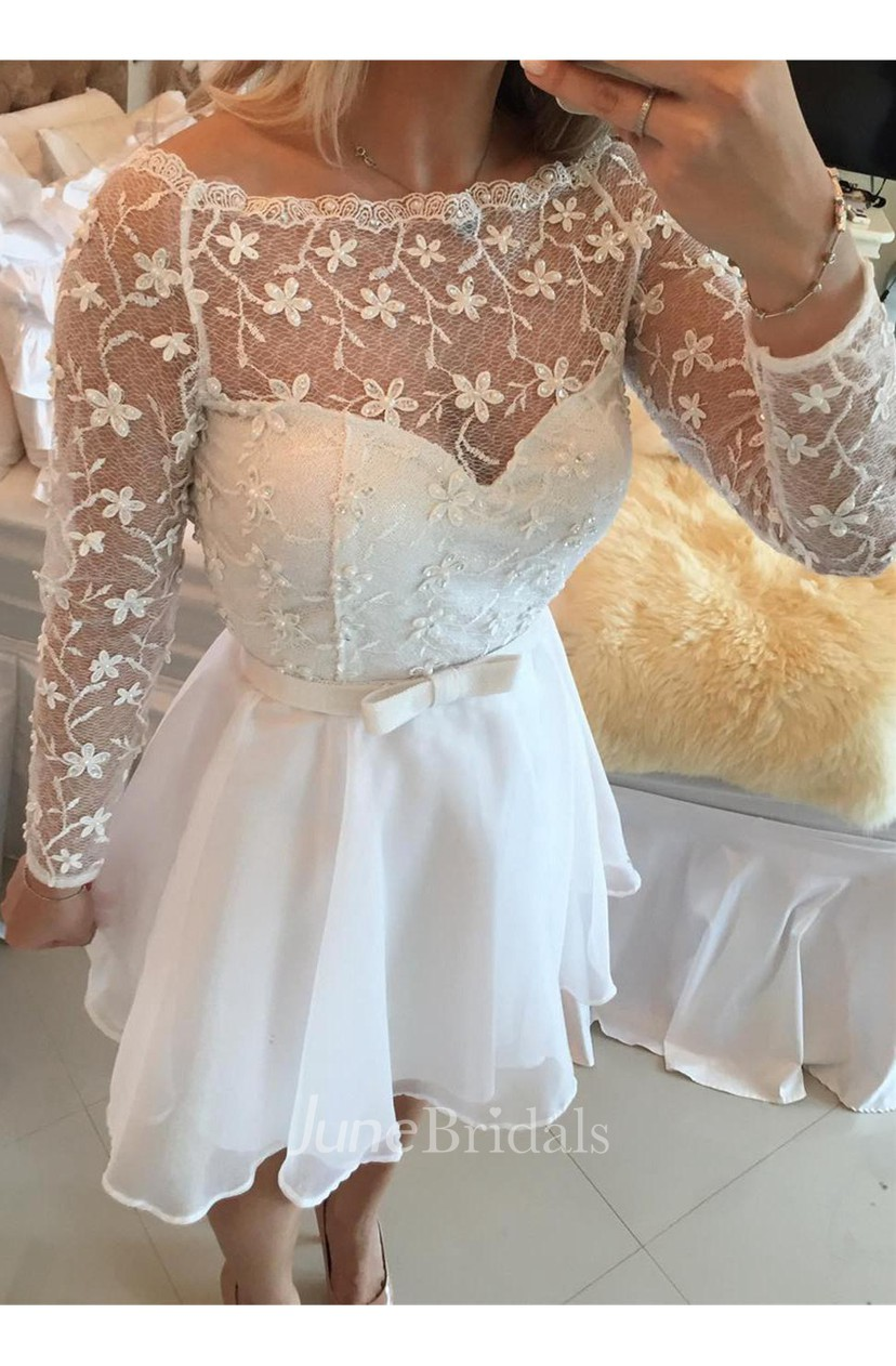 Beautiful White Lace Cocktail Dresses