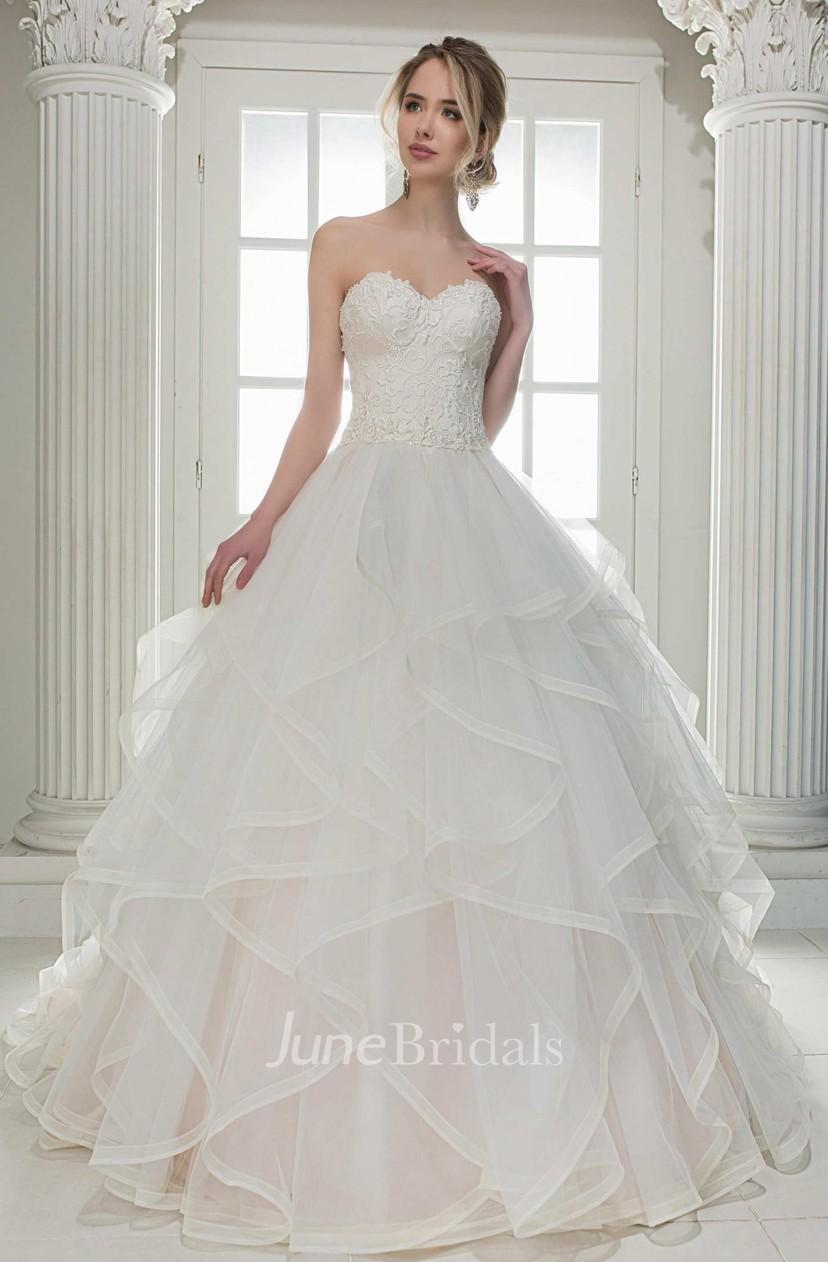 Ball Gown D Wedding Dress
